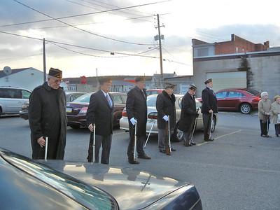 FRACKVILLE AMERICAN LEGION VETERAN'S DAY FRACKVILLE 11-11-2011