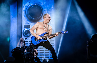Def Leppard performing at Tons Of Rock 2019