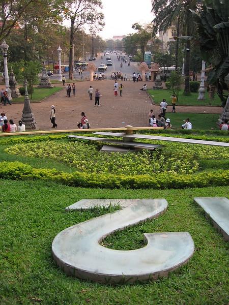 View from Wat Phnom.
