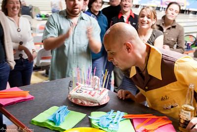 Clint's 35th Birthday - Lebowski Style