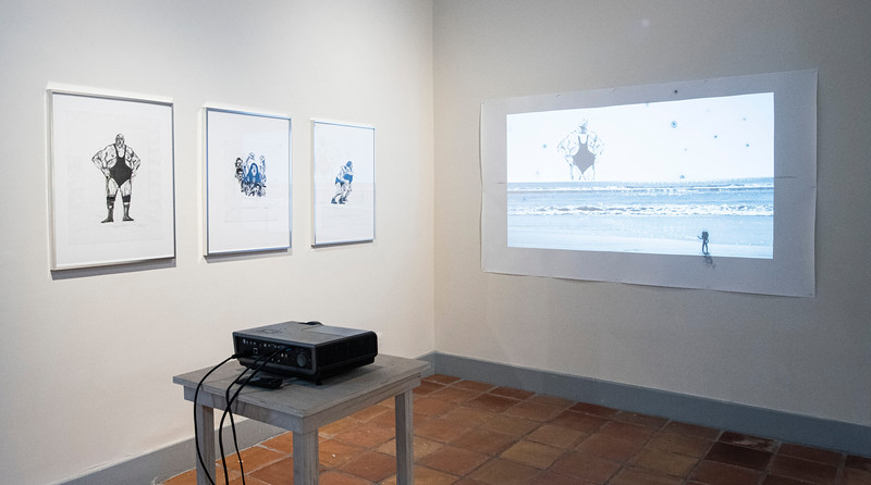 Patrick Moser, installation view