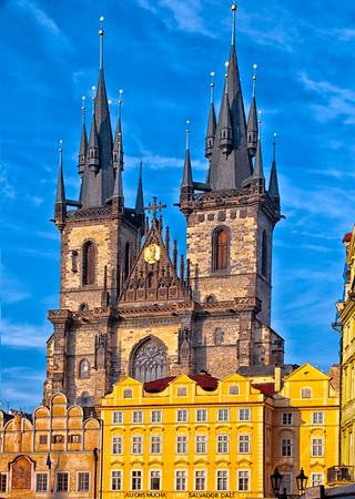 Prague and surrounding area