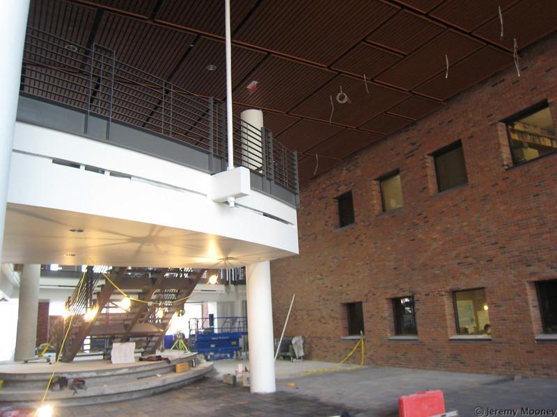 Stairway/atrium area