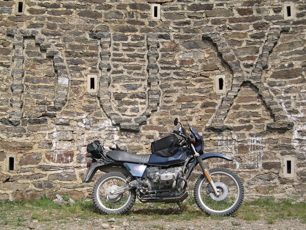 Hans' favoriete bocht; onderste deel Jafferau beklimming vanuit Salbertrand
