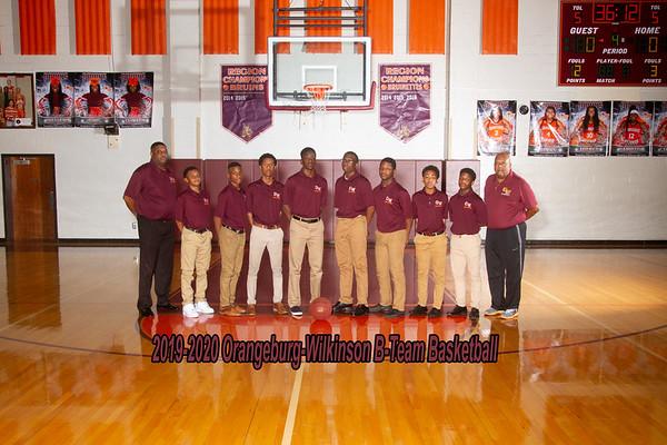 2019-2020 BTeam Boys Basketball