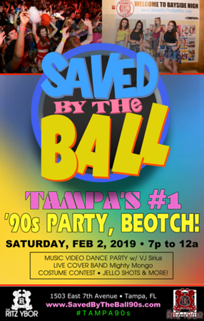 Saved By The Bell 90's Party