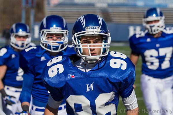 2012-10-27 Hillsdale College Men's Football vs. Grand Valley