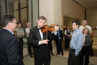 ICON Event Sergei Galperin plays at the Galleria Tower