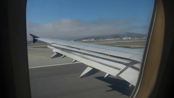 Flying out of San Francisco ~ video