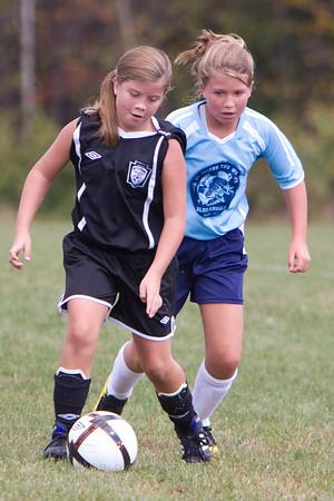 U-11 Girls Fall 2010 Game 2