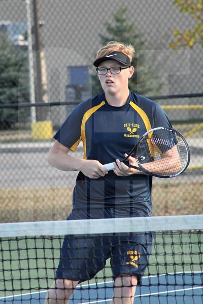 Boys Tennis vs. Garber 9-28-17