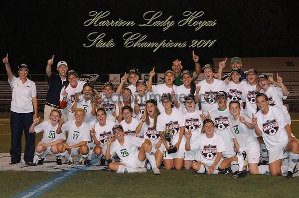 2011 GV: Harrison Hoya GHSA 5A State Champions