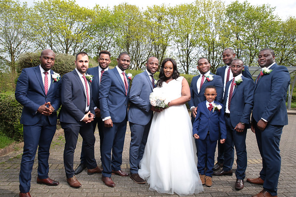 Hannah & Odie - Church and Reception
