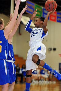 02/09/2012 - Nansemond-Suffolk Academy @ Norfolk Collegiate School / Varsity Girls Basketball