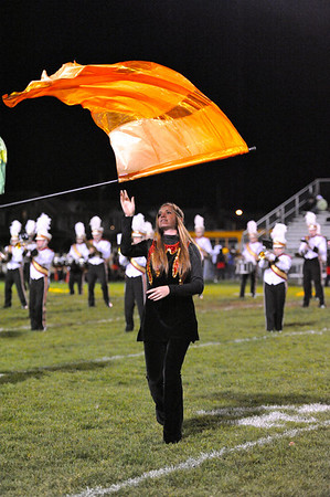 10.1.10 - New Brighton HS Marching Lion Pride (Halftime show @ Aliquippa game)