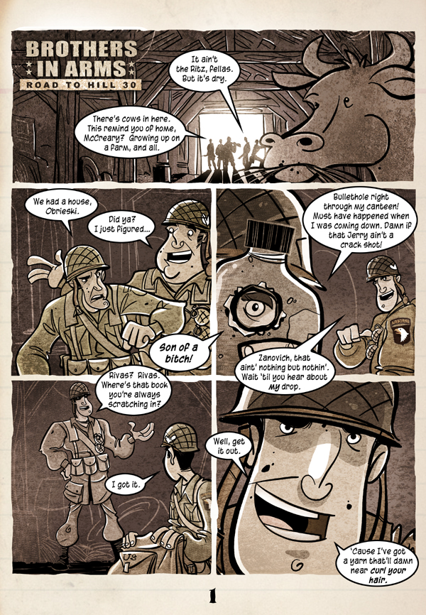 Brothers in Arms Page 1