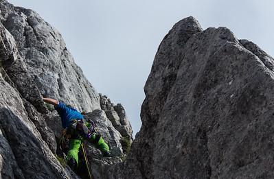 06 14 Climbing above Vrsic pass