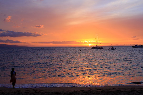 Maui Sunsets 5-08