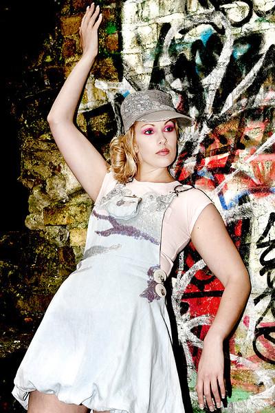 """Fashion Designer: Claire O'Connor Photographer: Angela Halpin Models: Sarah Hodson, Conny  Nauenburg, Hilary O""""Nolan & Lucrece Mougoue"""
