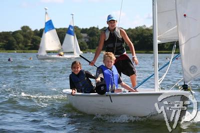 Jr. Sailing — morning — 8 . 11 - 2006