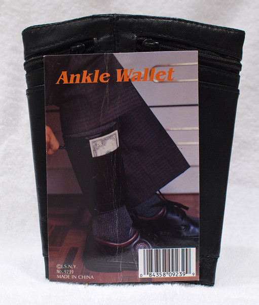 Ankle Wallet.  At Robillard?