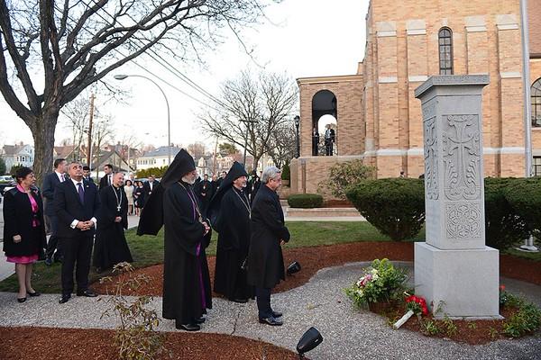 President Serzh Sargsyan Visits St. James