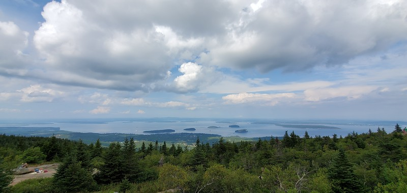 Mount Desert Island, Acadia National Park - Cadillac Mountain
