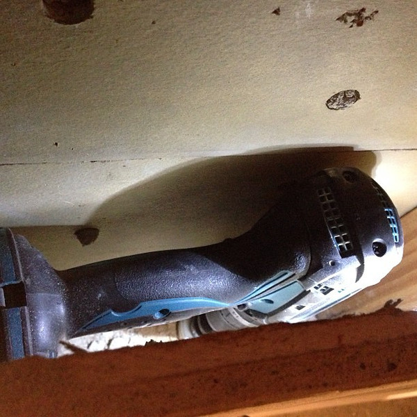 How to drill a hole inside a wall... via Instagram http://instagram.com/p/doIKBUBIUr/