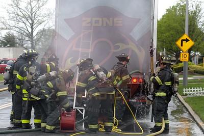 Deer Park F.D.  Signal 14  (Trailer Fire) West Industry Court 5/8/20