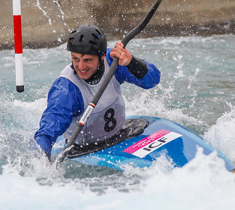 K1 Men - GB Selection Trials 2013 - 2nd Run - Sun - Lee Valley