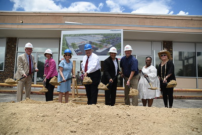 UHV Town Plaza Mall Groundbreaking