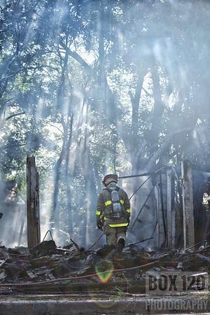 Vacant Dwelling Fire - Picoso St & Laredo St, San Antonio, TX - 6/7/17