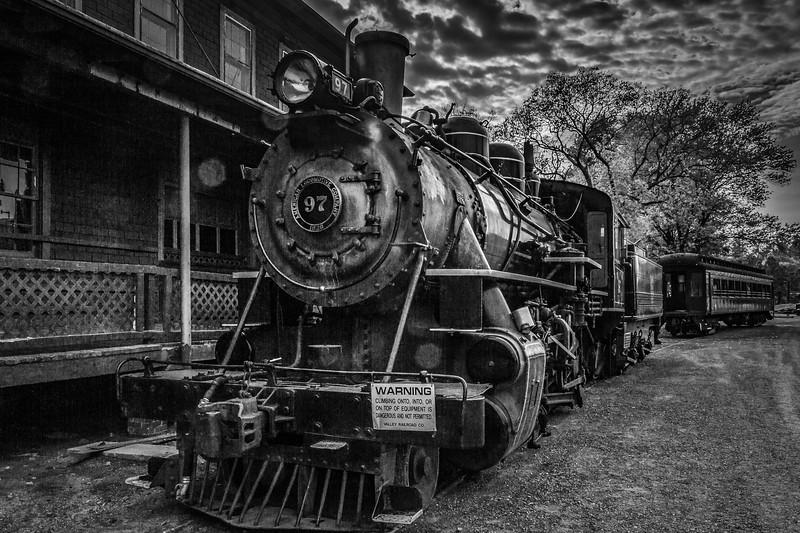 宾州蒸汽火车博物馆,远去的记忆