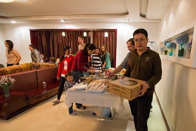 2014.1127 Thanksgiving in Weihai