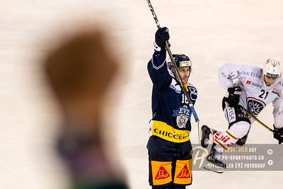National League Playoff Viertelfinal (3): EV Zug - HC Lugano