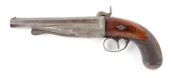 Profile image of Casimir Lefauchuex pistol facing Left