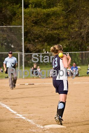 Softball: Unaka at Hampton (04-23-09)