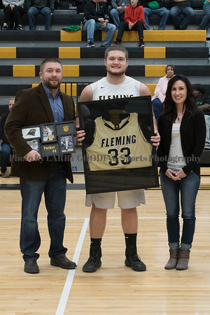 FCHS Boys Basketball Senior Night 2017