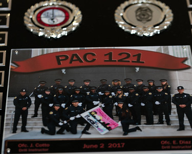 MPD PAC 121 Graduation and Swearing in ceremony 6-2-17