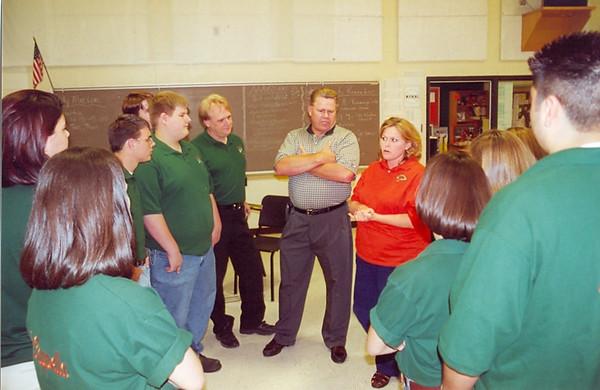 April 2000 Choir