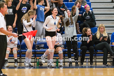 Volleyball: Albemarle vs. Tuscarora 11.9.16 (by Chas Sumser)