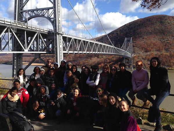 7th Grade Bear Mountain Field Trip