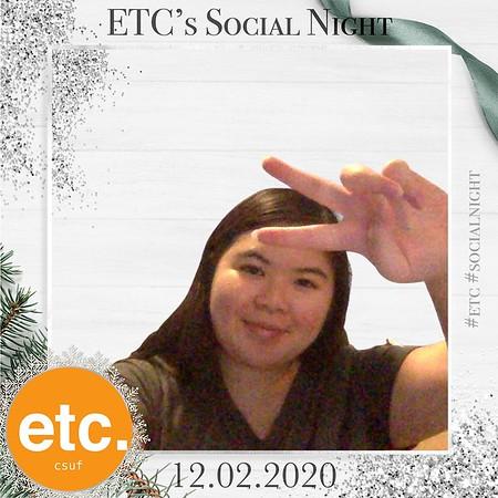 ETC Social Night 12.2.2020