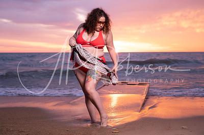 Jennifer El Sunrise Portrait Session