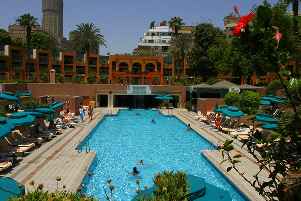 The Marriot in Cairo