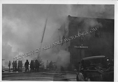 Hartford, CT Atlantic Warehouse fire 1941