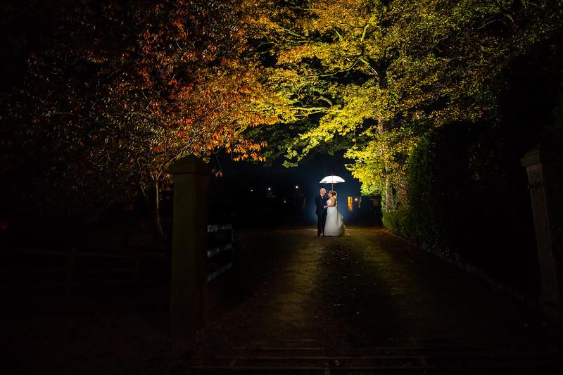 Night time at Singleton Lodge Wedding