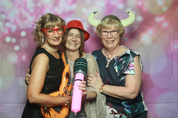 Photo Booth hire - Christine's 50th