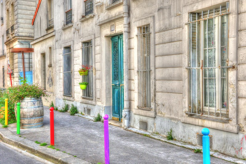 More colors in the 20th arrondissement