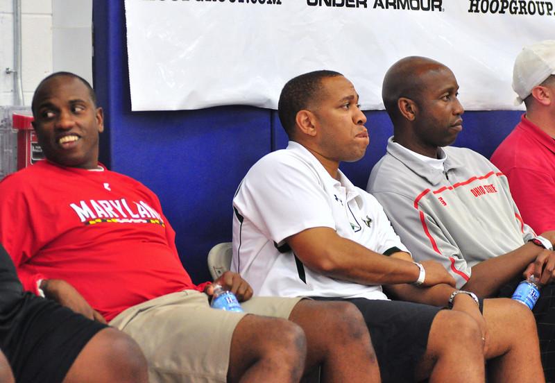 Coaches - University of Maryland, University of South Florida (?) and Ohio State